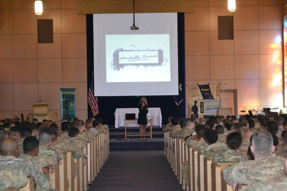 Fort Riley Army Base Kansas Speaking 2
