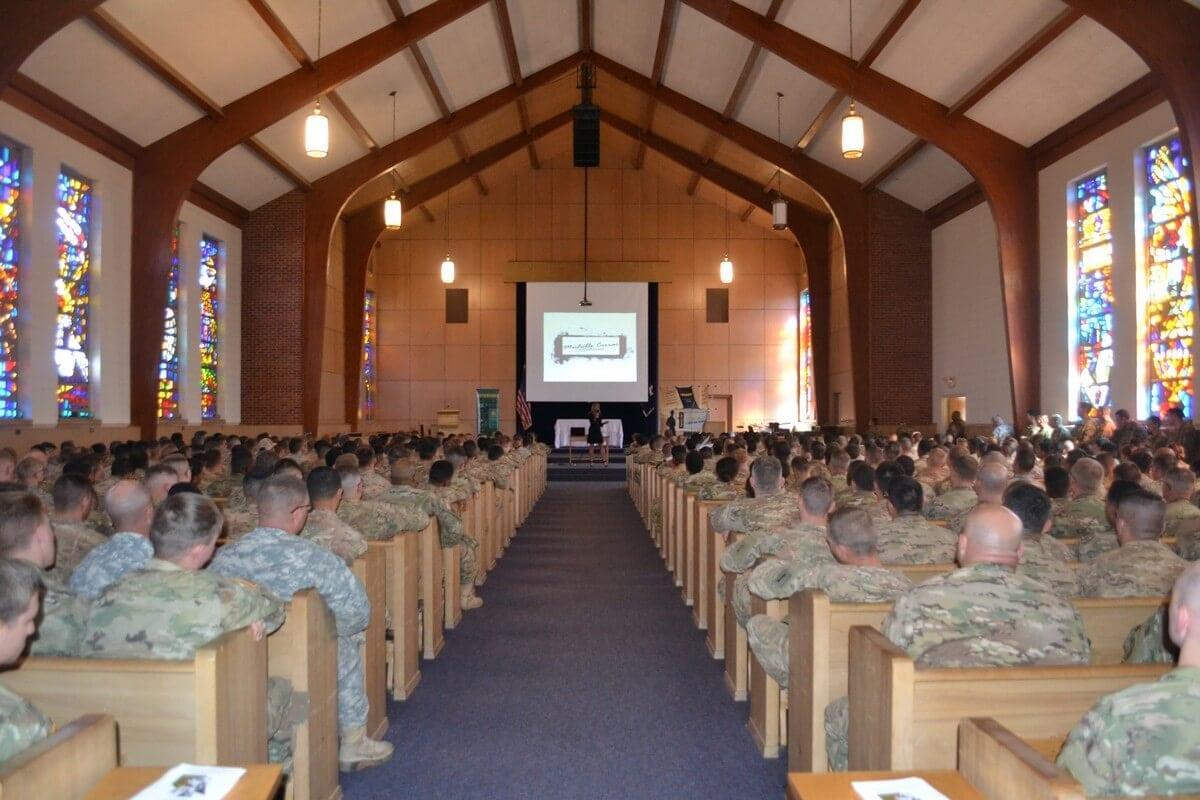 Fort Riley Army Base Kansas Speaking